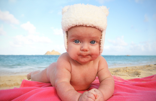 Hawaii portrait photography babies 31